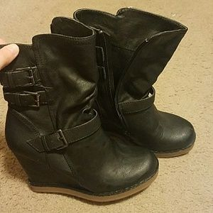 Report Francine wedge boots